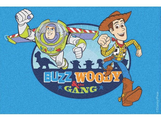 Alfombra disney buzz woody c sped y m s - Alfombras infantiles disney ...